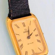 Relojes de pulsera: RELOJ A CUERDA OMEGA DE VILLE LADY CHAPADO EN ORO AÑO 70. Lote 149170954