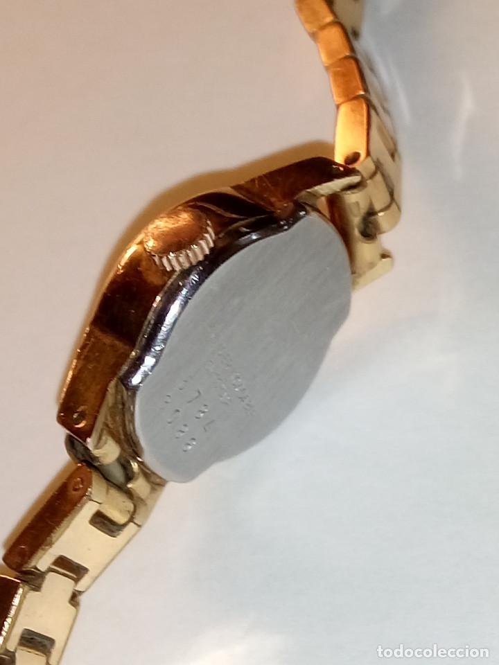Relojes de pulsera: ANTIGUO RADIANT MANUAL. DE SEÑORA. IMPECABLE. TODO EN PLAQUE ORO. AÑOS 50. FUNCIONANDO. DESCRIP. Y - Foto 3 - 149204938