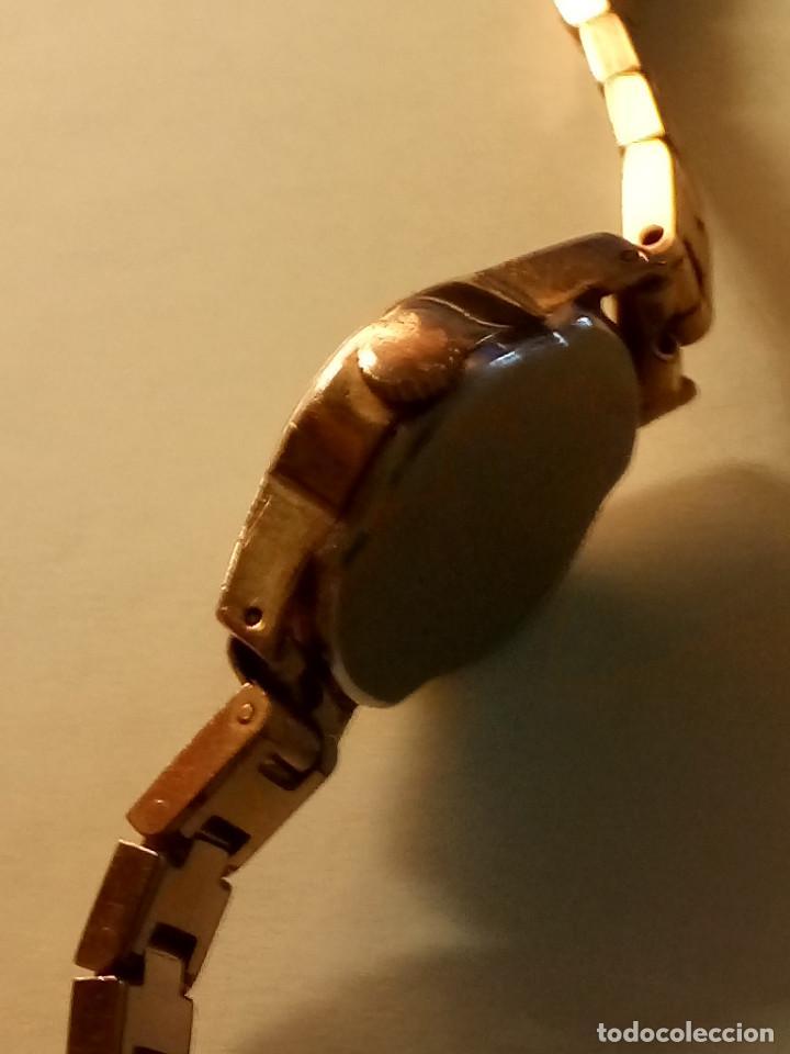 Relojes de pulsera: ANTIGUO RADIANT MANUAL. DE SEÑORA. IMPECABLE. TODO EN PLAQUE ORO. AÑOS 50. FUNCIONANDO. DESCRIP. Y - Foto 4 - 149204938
