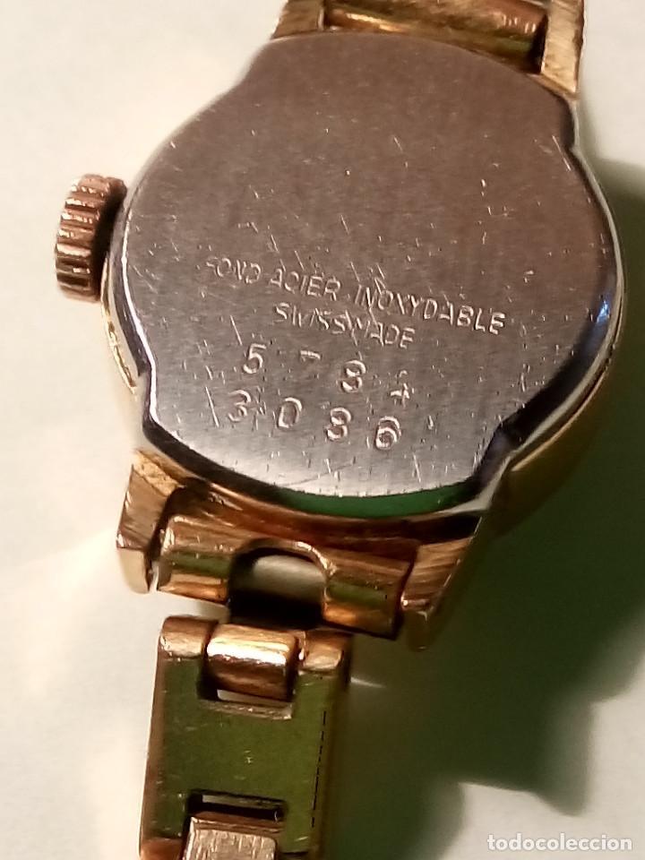 Relojes de pulsera: ANTIGUO RADIANT MANUAL. DE SEÑORA. IMPECABLE. TODO EN PLAQUE ORO. AÑOS 50. FUNCIONANDO. DESCRIP. Y - Foto 6 - 149204938