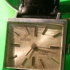 Relojes de pulsera: ANTIGUO POTENS MANUAL. AÑOS 50. FUNCIONANDO. DESCRIPCION Y FOTOS.. Lote 149207574