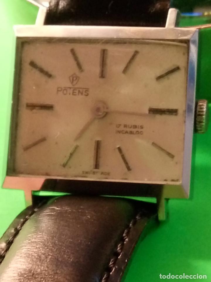 Relojes de pulsera: ANTIGUO POTENS MANUAL. AÑOS 50. FUNCIONANDO. DESCRIPCION Y FOTOS. - Foto 2 - 149207574