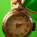 Relojes de pulsera: ANTIGUO REWELLIM SUIZO. 45/50. FUNCIONANDO. P.ORO RELOJ Y PULSERA. DESCRIPCION Y FOTOS.. Lote 149291654