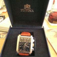 Relojes de pulsera: RELOJ FESTINA CRONOGRAFO MFS00/01 SIN ESTRENAR EN SU CAJA ORIGINAL. Lote 149562390