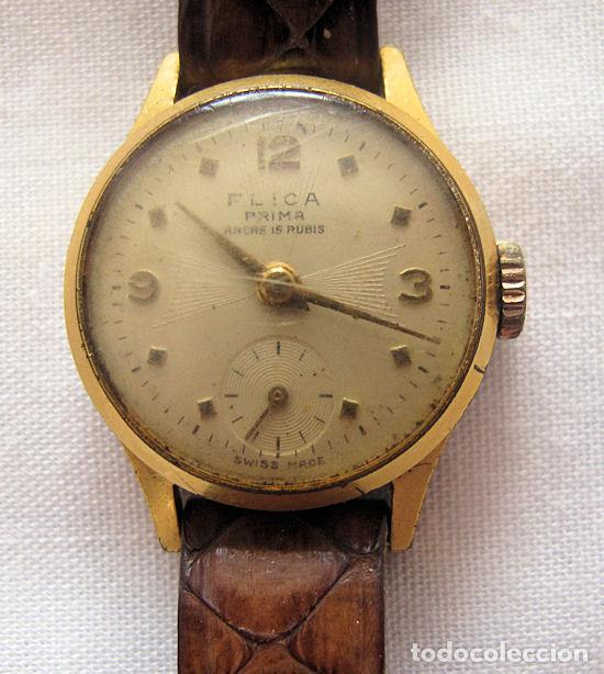 RELOJ DE CUERDA FLICA PRIMA (Relojes - Pulsera Carga Manual)