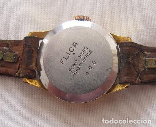 Relojes de pulsera: RELOJ DE CUERDA FLICA PRIMA - Foto 2 - 149733182