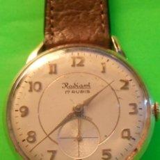 Relojes de pulsera: ANTIGUO RADIANT - 1.960/65. FUNCIONANDO BIEN. P.ORO. 10 MICRAS. DESCRIPCION Y FOTOS.. Lote 149799914