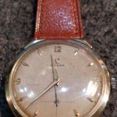 Relojes de pulsera: RELOJ OMEGA, BAÑO DE ORO DE 80 MICRAS, 17 JEWELS. FUNCIONANDO. Lote 150078102