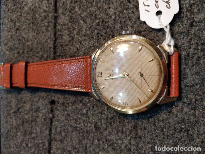 Relojes de pulsera: Reloj OMEGA, baño de Oro de 80 Micras, 17 Jewels. FUNCIONANDO - Foto 2 - 150078102