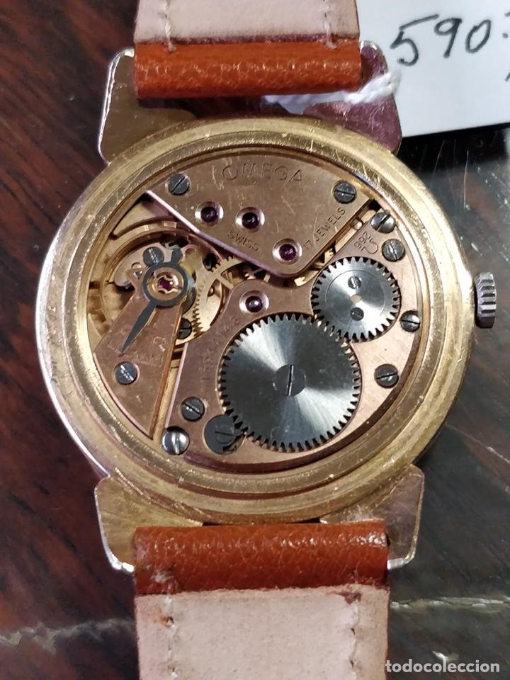 Relojes de pulsera: Reloj OMEGA, baño de Oro de 80 Micras, 17 Jewels. FUNCIONANDO - Foto 4 - 150078102