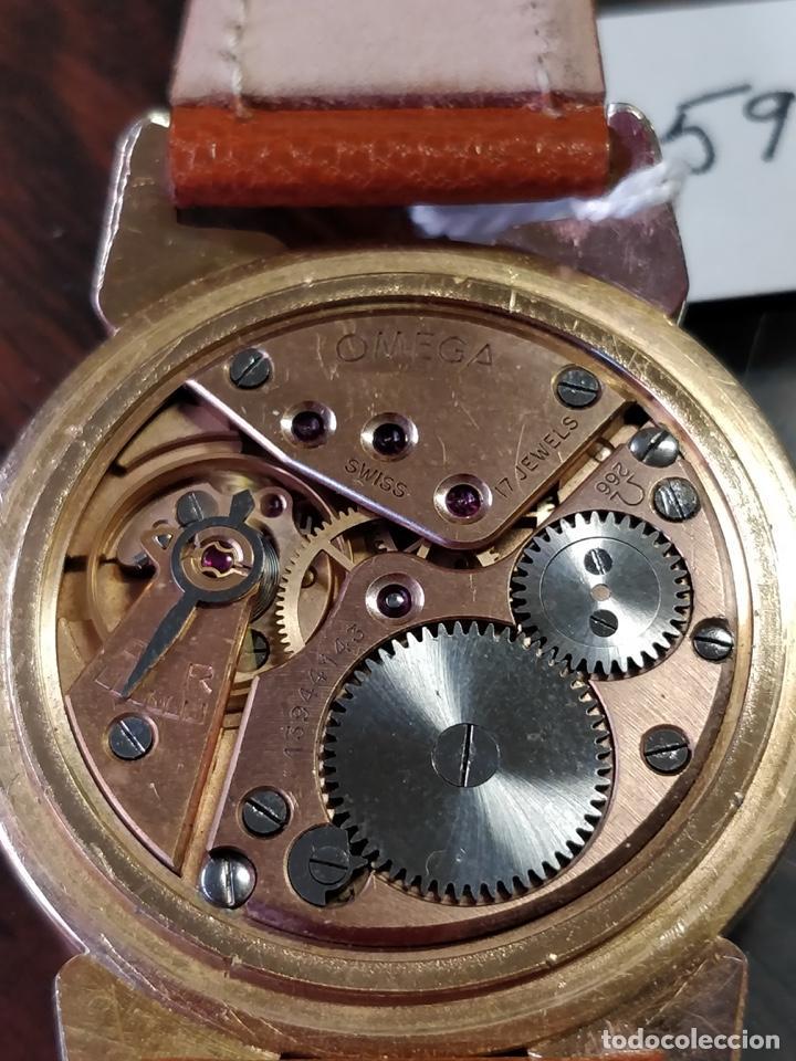Relojes de pulsera: Reloj OMEGA, baño de Oro de 80 Micras, 17 Jewels. FUNCIONANDO - Foto 5 - 150078102