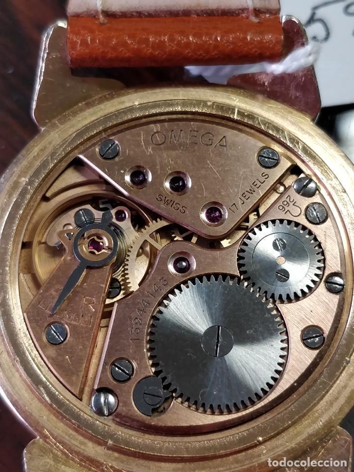 Relojes de pulsera: Reloj OMEGA, baño de Oro de 80 Micras, 17 Jewels. FUNCIONANDO - Foto 6 - 150078102