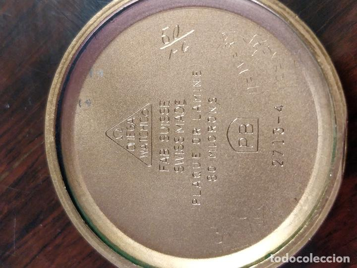 Relojes de pulsera: Reloj OMEGA, baño de Oro de 80 Micras, 17 Jewels. FUNCIONANDO - Foto 7 - 150078102
