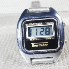 Relojes de pulsera: ANTIGUO THERMIDOR ELECTRONICO AÑOS 80 SIN USO FIN STOK FUNCIONA LOTE WATCHES. Lote 150170906