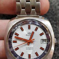 Relojes de pulsera: RELOJ ROYCE, 17 JEWELS INCABLOC, FUNCIONANDO. Lote 150191214