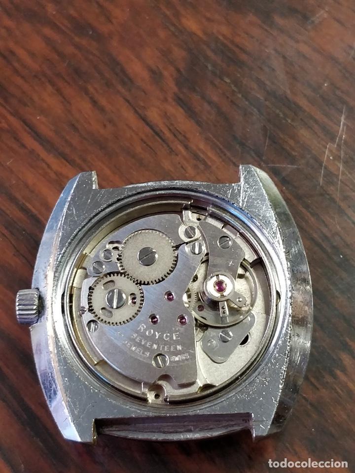 Relojes de pulsera: Reloj ROYCE, 17 Jewels Incabloc, Funcionando - Foto 4 - 150191214