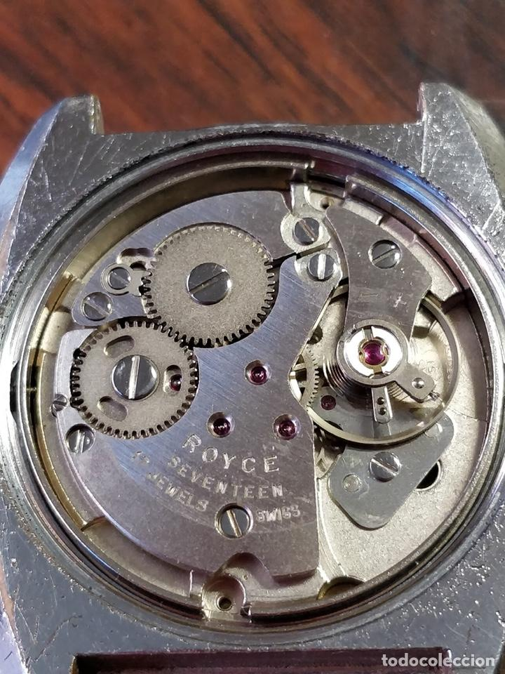 Relojes de pulsera: Reloj ROYCE, 17 Jewels Incabloc, Funcionando - Foto 5 - 150191214