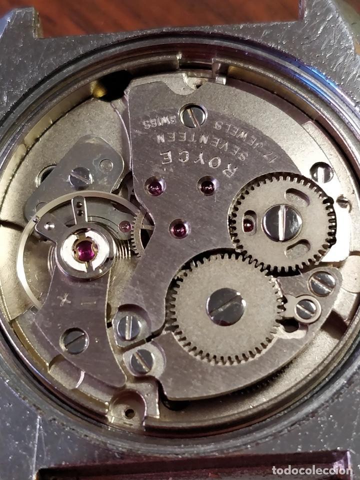 Relojes de pulsera: Reloj ROYCE, 17 Jewels Incabloc, Funcionando - Foto 6 - 150191214
