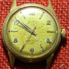 Relojes de pulsera: ANTIGUO RELOJ MECANICO AÑOS 50 - MARCA BMC - PARA RESTAURAR O PIEZAS - BLACK DUSTPROOF - STAINLESS. Lote 150193434