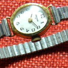 Relojes de pulsera: ANTIGUO RELOJ MECANICO AÑOS 50 - MARCA SELHOR - VITRINA O PIEZAS. DIAMETRO: 18 MM. Lote 150259346