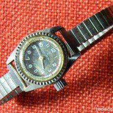 Relojes de pulsera: ANTIGUO RELOJ MECANICO AÑOS 50 - MARCA SELHOR - PRECISA LIMPIEZA. DIAMETRO: 25 MM. Lote 150259666