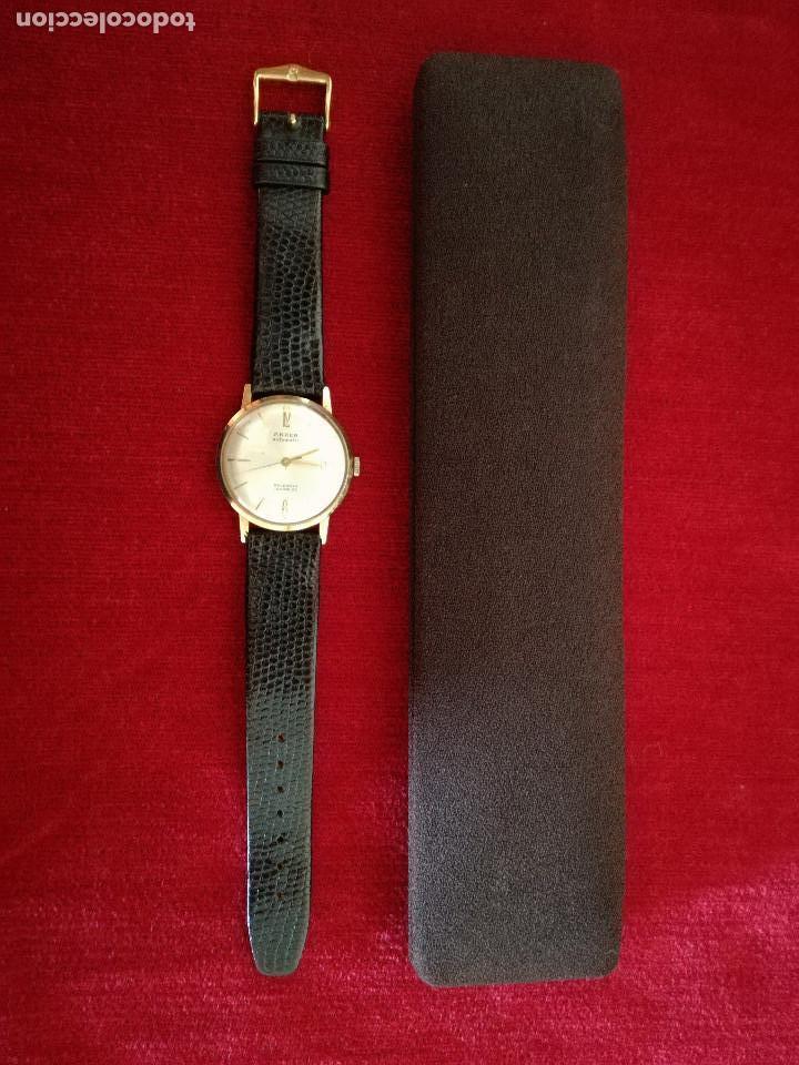 Relojes de pulsera: RELOJ ANKER AUTOMATIC Y ESTUCHE ORIGINAL OMEGA - Foto 4 - 150544946