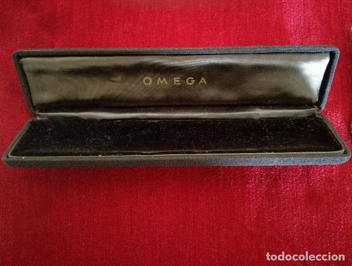 Relojes de pulsera: RELOJ ANKER AUTOMATIC Y ESTUCHE ORIGINAL OMEGA - Foto 5 - 150544946