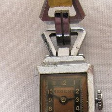 Relojes de pulsera: RELOJ DE CUERDA ART DECO SEÑORA REGENT. Lote 150556198