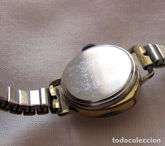 Relojes de pulsera: RELOJ DE CUERDA SEÑORA TRIANGULAR RARO - Foto 3 - 150558302
