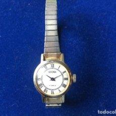 Relojes de pulsera: ANTIGUO RELOJ DE SEÑORA SEKONDA 17 JEWELS, RUSO. Lote 150688422