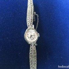 Relojes de pulsera: RELOJ DE SEÑORA MONDAINE ,FUNCIONANDO. Lote 150688702