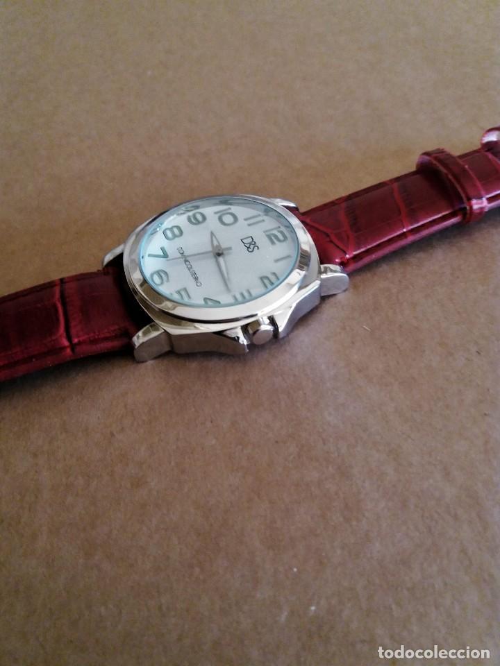 Relojes de pulsera: MODERNO RELOJ D&S NUEVO A ESTRENAR - Foto 2 - 150793806