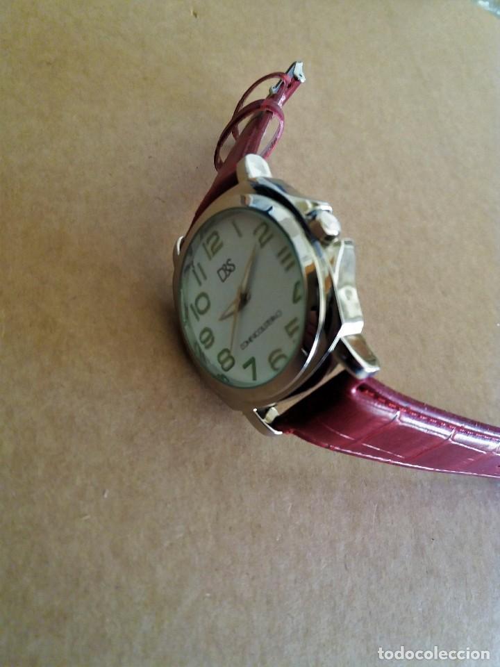 Relojes de pulsera: MODERNO RELOJ D&S NUEVO A ESTRENAR - Foto 3 - 150793806