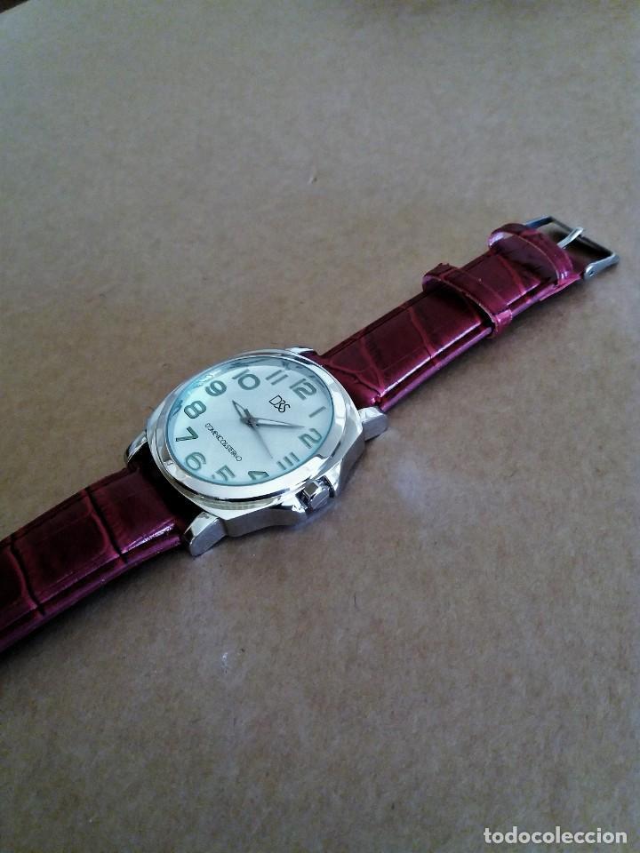 Relojes de pulsera: MODERNO RELOJ D&S NUEVO A ESTRENAR - Foto 4 - 150793806