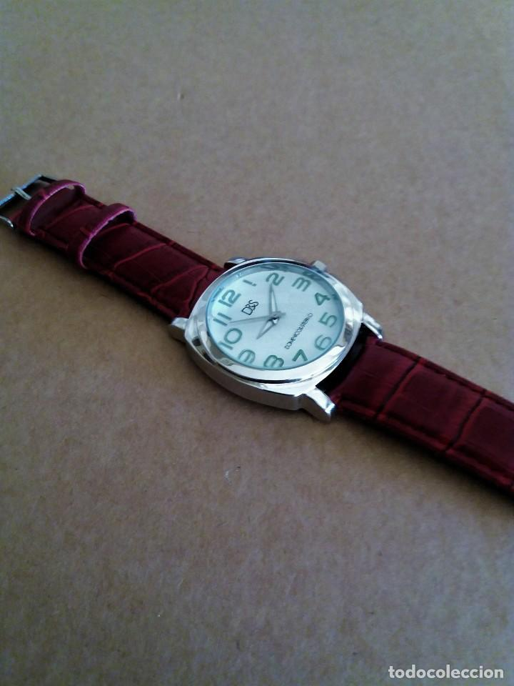 Relojes de pulsera: MODERNO RELOJ D&S NUEVO A ESTRENAR - Foto 5 - 150793806