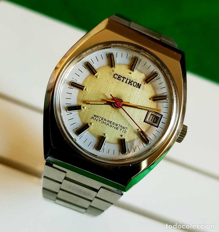Relojes de pulsera: CETIKON DE CUERDA VINTAGE, C1970 NOS (NEW OLD STOCK) - Foto 2 - 150795966