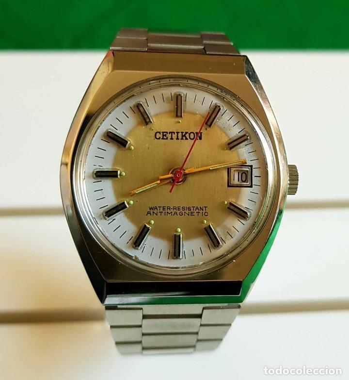 Relojes de pulsera: CETIKON DE CUERDA VINTAGE, C1970 NOS (NEW OLD STOCK) - Foto 3 - 150795966