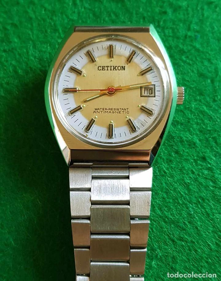 Relojes de pulsera: CETIKON DE CUERDA VINTAGE, C1970 NOS (NEW OLD STOCK) - Foto 5 - 150795966