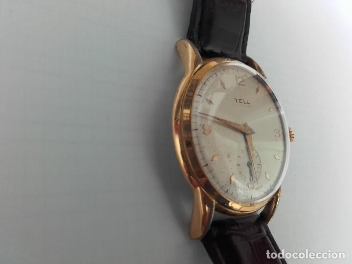 Armbanduhren: Reloj grande TELL movimiento AS 1130 vintage 38mm sin contar corona buen estado - Foto 2 - 150985170