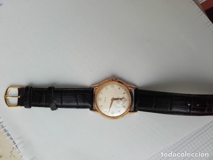 Armbanduhren: Reloj grande TELL movimiento AS 1130 vintage 38mm sin contar corona buen estado - Foto 4 - 150985170