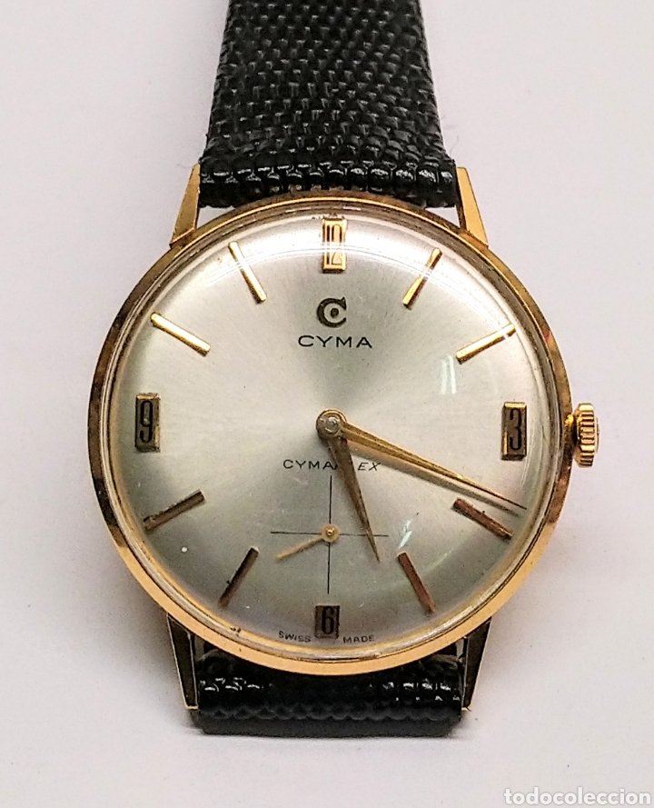 RELOJ CYMA CUERDA MANUAL ORO 18 KTS. 15 GRMS. (Relojes - Pulsera Carga Manual)