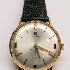 Relojes de pulsera: RELOJ CYMA CUERDA MANUAL ORO 18 KTS. 15 GRMS.. Lote 150950278