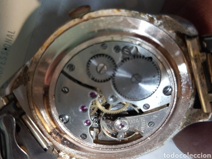 Relojes de pulsera: Reloj Cuerda Caballero grande Lanco 15 Rubis funcionando - Foto 2 - 151004424