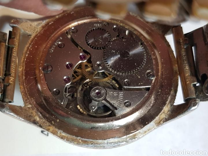 Relojes de pulsera: Reloj Cuerda Caballero grande Lanco 15 Rubis funcionando - Foto 3 - 151004424