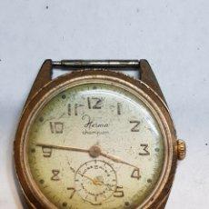 Relojes de pulsera: RELOJ CUERDA ANTIGUO HERMA CHAMPION FUNCIONANDO. Lote 209307961