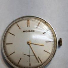 Relojes de pulsera: MAQUINA RELOJ ANTIGUO DE CUERDA MOVADO FUNCIONANDO. Lote 151157025