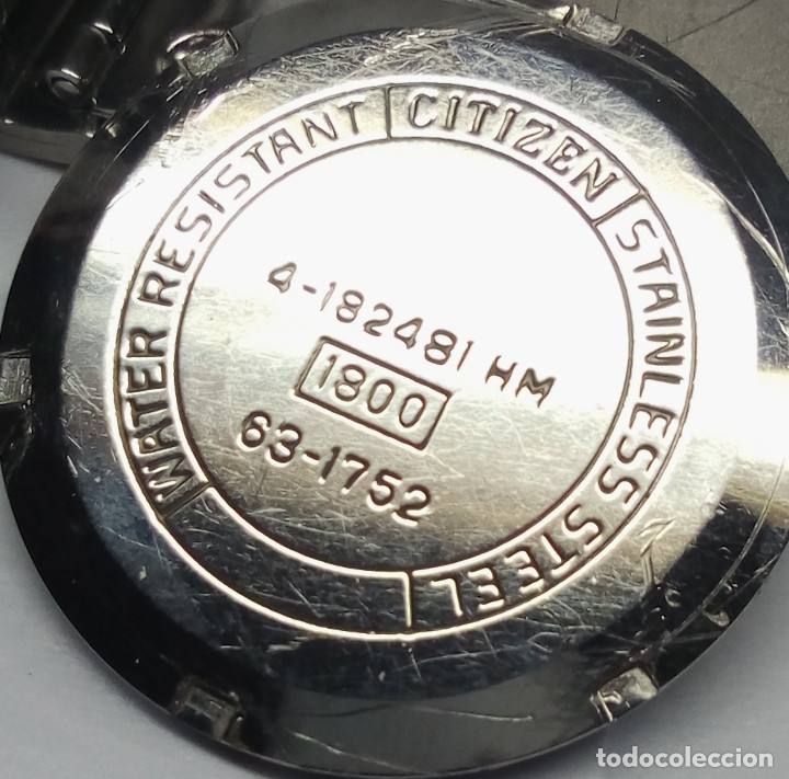 Relojes de pulsera: RELOJ CITIZEN DE CARGA MANUAL 21 JEWELS - CAJA 36 mm - FUNCIONANDO - Foto 5 - 142081374