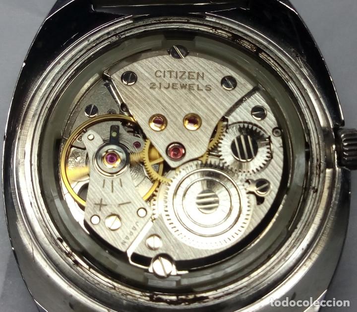 Relojes de pulsera: RELOJ CITIZEN DE CARGA MANUAL 21 JEWELS - CAJA 36 mm - FUNCIONANDO - Foto 6 - 142081374