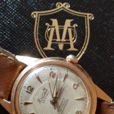 Relojes de pulsera: RELOJ DE CARGA CHAPADO ORO FONCCIONA. Lote 151390465