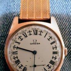 Armbanduhren: BONITO RELOJ OMEGA 20 MICRANS ORO Y CADENA 8 MICRAS MARCA. Lote 151556860